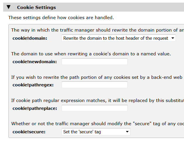 cookie settings for http virtual servers